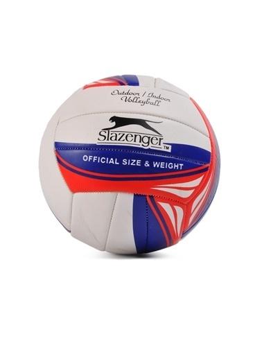Slazenger Kırmızı-Beyaz Voleybol Topu Lacivert